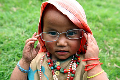 Little girl  Hile (Jules1405) Tags: world travel nepal portrait people face kids children asian glasses kid asia child asie nepali asiatique hile reflectionsoflife lovelyphoto jules1405 unseenasia dhankuta