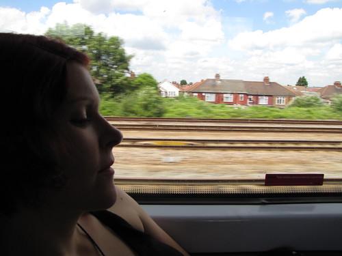 Aboard the Heathrow Express