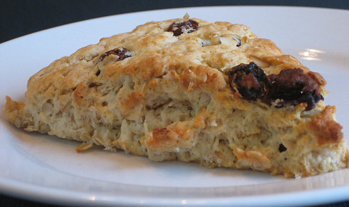 Oatmeal Raisin Scone