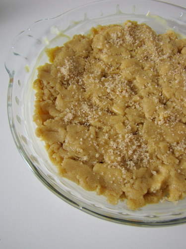 Easy Apple Crumble with Vanilla Custard Sauce- Step by Step Recipe