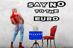 Say No To The Euro (kamelskin) Tags: new uk england english film girl movie fun this is 60s funny skins blind skin kate euro chocolate dr 4 flight stamp jacket 80s laugh fred cult 70s date 69 trojan titanic oi perry trad docs skinhead harrington winslet skinheads martens mccourt 4skins