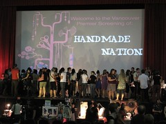 Vancouver Handmade Nation premiere at the Rio Theather