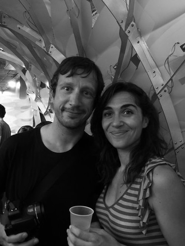 Antonio Petrov and Rania Ghosn, members of the New Geographies editorial board.