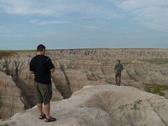 Keith and David, Badlands, SD (elido1) Tags: west july 2009 headed