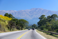 NORTHWESTERN ARGENTINA: Approaching the Andes. (thejourney1972 (South America addicted)) Tags: road mountains argentina ruta landscape carretera northwest 9 paisaje paisagem route estrada national andes nacional montanhas noa montaas jujuy argentino rodovia noroeste ringexcellence