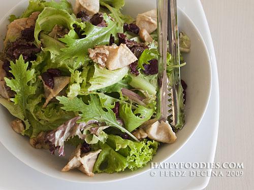 Fruity Wonton Salad (P285)