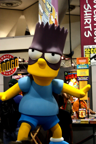 Bart Simpson oversized statue
