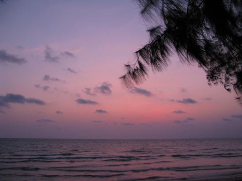 Mellow sunset - Otres Beach, Cambodia