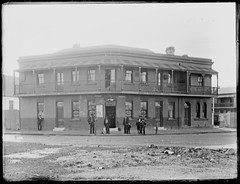 PJ Le Neveus Duke of Edinburgh Hotel [The Junction], NSW, 30 July 1901 (Cultural Collections, University of Newcastle) Tags: newcastle hotel pub australia nsw 1901 thejunction dukeofedinburghhotel leneveu ralphsnowball snowballcollection ralphsnowballcollection asgn0679b28 dukeofedinburghhotelf pjleneveu newcastleregionnswhistorypictorialworks hotelsnewsouthwales photographynewsouthwalesnewcastle