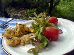 Rejer og salat