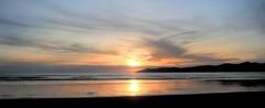 Sunset #4 (realistic) (wiifm) Tags: sunset newzealand sky sun reflection beach water clouds 2009 hdr kapiticoast raumati panasonicdmctz3