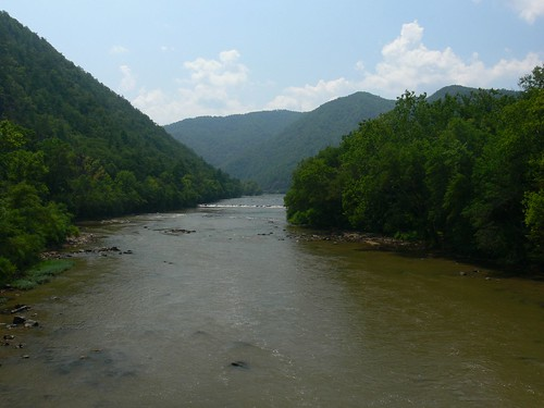 French Broad River from Bridge
