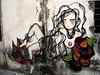 (SINHÁ) Tags: art graffiti santos eveline sinhá espaçonave sãopelo