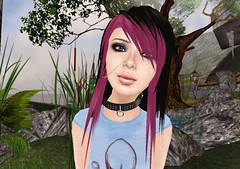 Pretty n' Punk (Beca Staheli) Tags: life gay boy cute girly feminine avatar emo crossdressing teen secondlife kawaii second trap effeminate androgynous bishonen prettyboy femboy femboi