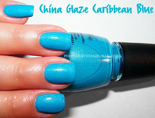 China Glaze Caribbean Blue