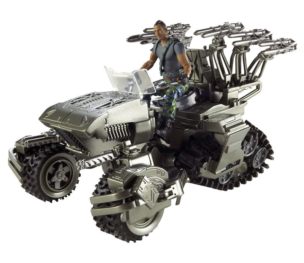 Avatar toy figure vehicle ATV