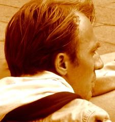 He  was (kilmerstein) Tags: man hair bologna capelli profilo