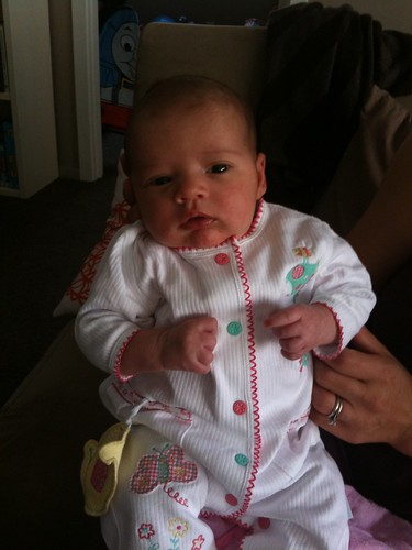 Lia rose 1 mth old