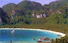 921215 Ko Phi Phi Don (Pee Pee) (rona.h) Tags: december 1992 malasia kophiphidon ronah