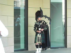 Man with a Bagpipe
