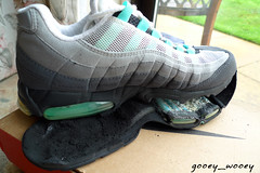 Nike Wmns Air Max 95 SC 'Pool' ('98). (gooey_wooey) Tags: 1 shoes running sneakers trainers nike 98 pools disaster kicks 95 90 airmax 87 97 ruined unit airbubbleair