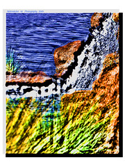Water Art (phil_sidenstricker) Tags: abstract art nature water landscape 3d canvas embossed textured 3deffect fujifilmfinepixs5700 awardtree ~maxfudge~ pinalcountyazusa
