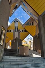 Rotterdam. Cube houses