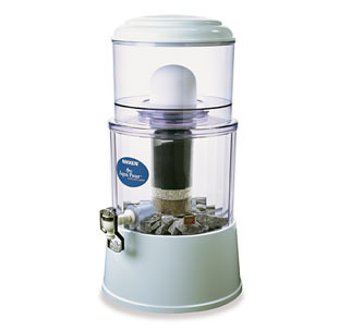 Water Filter Index including the Aqua Rain Water Filter which is a Non-Electric Gravity Feed Water Filter.