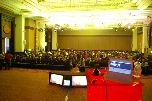 What 1200 people looks like from the stage
