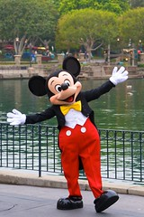 Disneyland Aug 2009 - Mickey in Frontierland