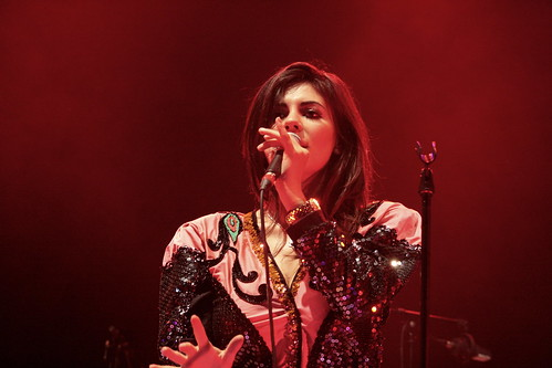 Marina Diamandis of Marina And The Diamonds @ Electric Picnic 2009