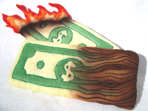 Felted Dollars 1