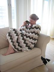My Ripple Blanket (jatta78) Tags: ripple blanket