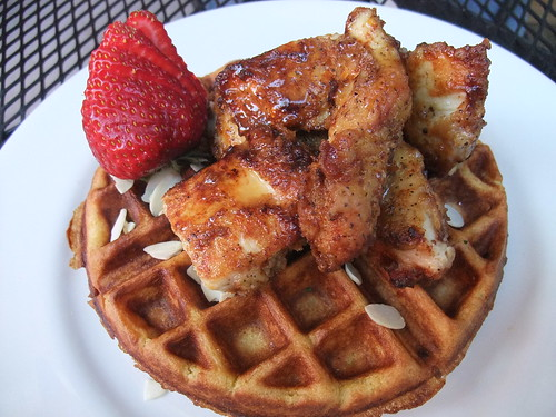 Grandaddie's Chicken and Waffles from Banana Bean Cafe