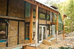 La maison en construction