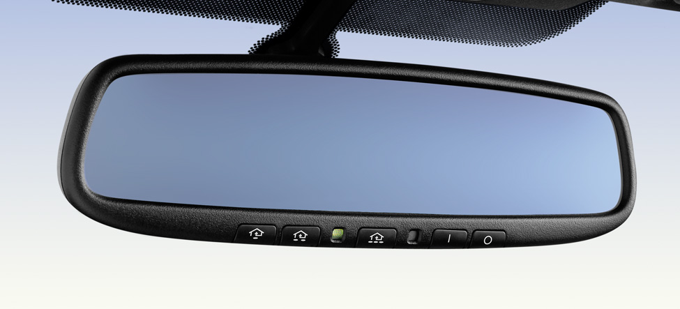 Available auto-dimming rearview mirror