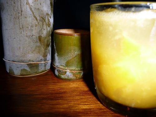 bamboo sake & sochu smash