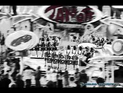 Take off (mcPhotoArts) Tags: blackandwhite bw germany fun bayern deutschland bavaria blackwhite sw monochrom schwarzweiss takeoff spass carny volksfest mittelfranken geotagging frth schausteller kirchweih vergngen schwarzundweiss fahrgeschft canoneos400d sigma1770mm2845dcmacro photoshopcs4 bumblebeephotografix frtherkirchweih
