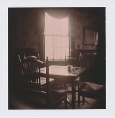 (r.yen) Tags: coffee table polaroid holga chairs chocolate instant dining holgaroid 80 vignette choco polga beekmanarmsinn