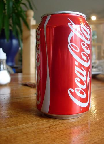 Coca Cola tin by Elsie esq..