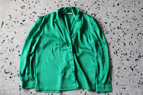emerald green 'sportscraft shirt $8