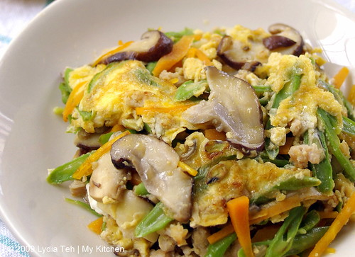 Mixed Veges Omelette