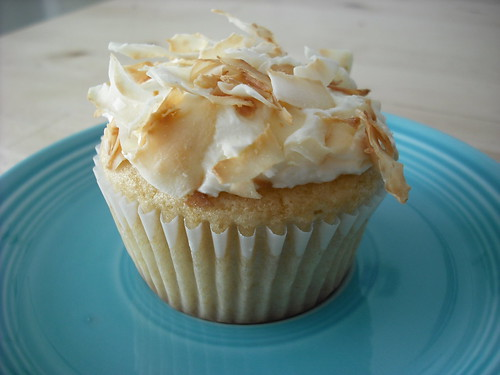 White Cupcakes - Coconut Variation