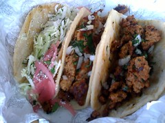 Tacos from El Gallo Taqueria
