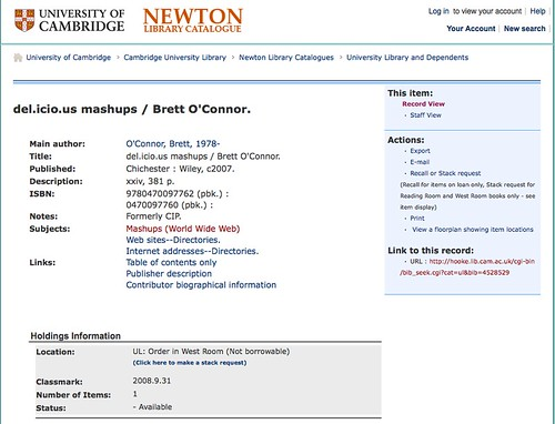 BOok info on Newton