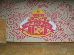 SYP Mural (Willbryantplz) Tags: yoga studio logo dallas mural paint deepellum thepolyphonicspree superyogapalace