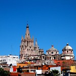 San Miguel de Allende: Parroquia en día claro