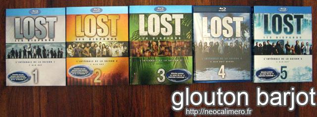 Visionnage Lost 5 saisons