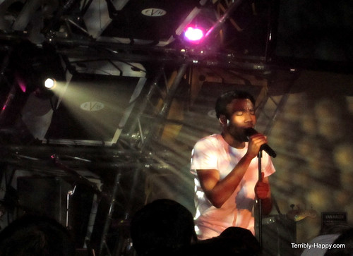 Donald Glover / Childish Gambino at the Hard Rock