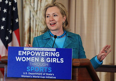 Hillary Clinton Launches Women's World Cup Initiative
